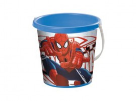 Cubo playa spiderman