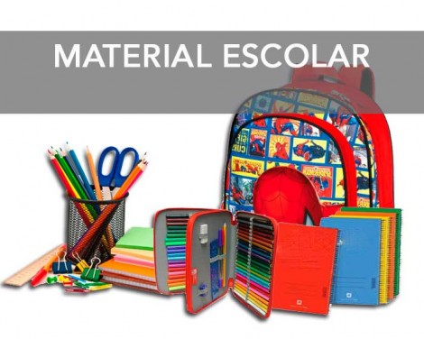 seccion material escolar